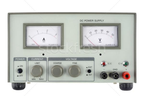 Source de courant unité isolé blanche Photo stock © vavlt