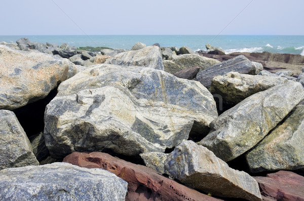 Africaine mer granit pierres grand Ghana Photo stock © vavlt