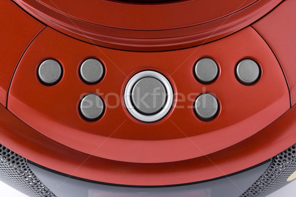 Abstract  red control panel Stock photo © vavlt