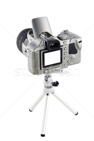 Digital camera on tripod Stock photo © vavlt