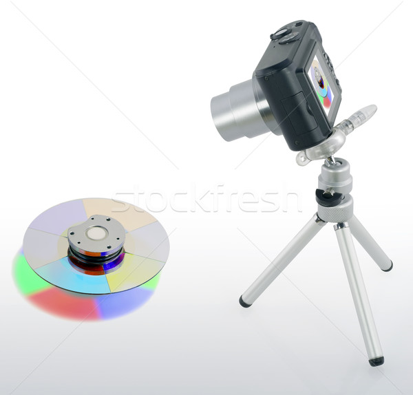 Camera shot RGB filter Stock photo © vavlt