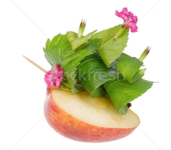 toy apple boat  floats towards the light  Stock photo © vavlt