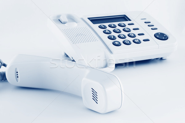 Phone and removed handset Stock photo © vavlt