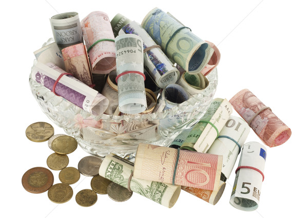 All my money in a crystal vase Stock photo © vavlt