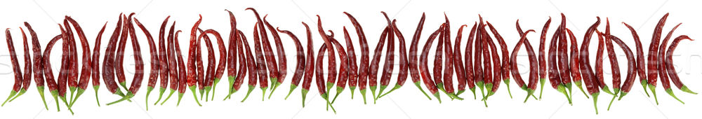 peppers big border isolated Stock photo © vavlt