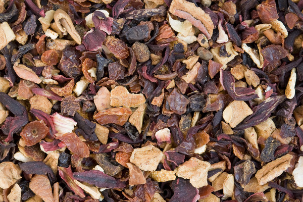 Dry Elite flower tea with slices of exotic fruit  Stock photo © vavlt