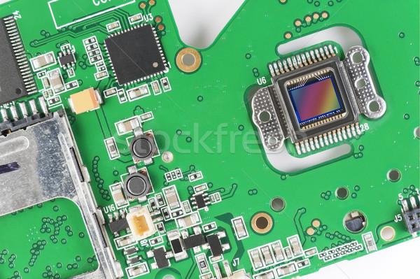 Sensor from mass digital camera Stock photo © vavlt