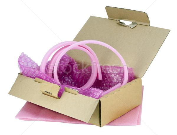 Zachte roze industriële film Stockfoto © vavlt