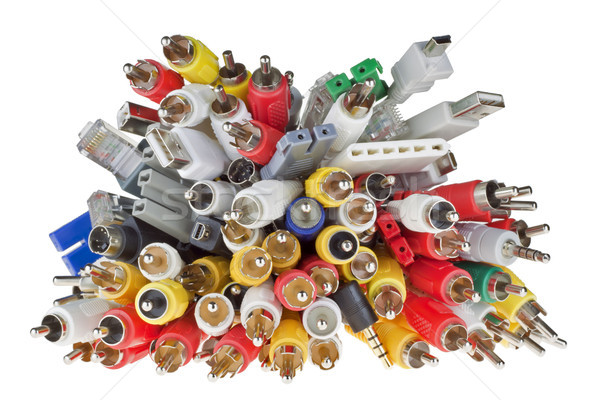 Digital connectors world chaos  Stock photo © vavlt