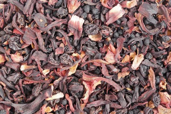 высушите элита цветок чай Ломтики экзотический Сток-фото © vavlt