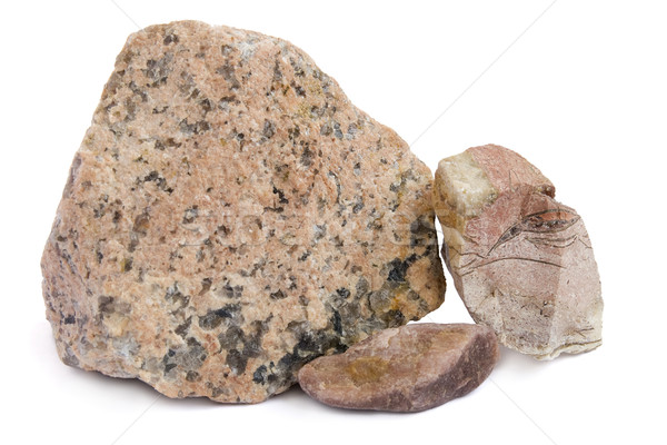 The red granite stones Stock photo © vavlt
