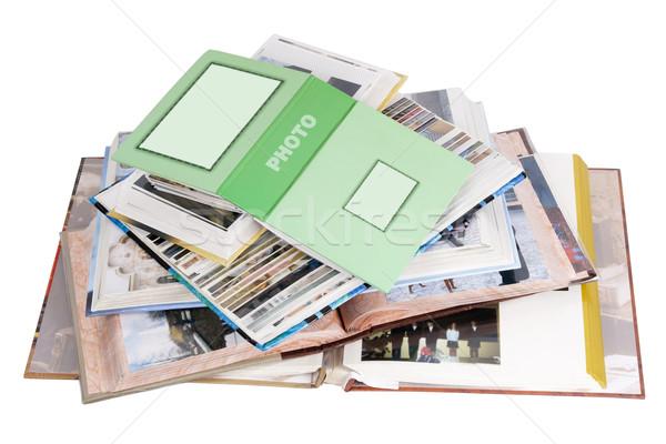 Family photo albums Stock photo © vavlt