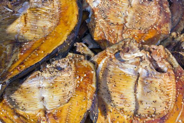 Smoked fish Stock photo © vavlt