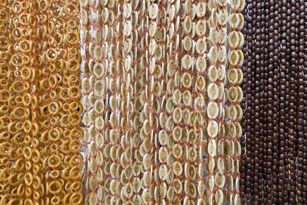 wooden beads mix Stock photo © vavlt