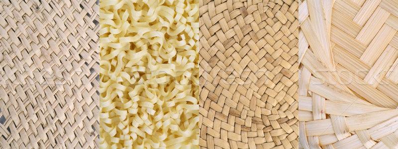 The bound fibres textures set Stock photo © vavlt