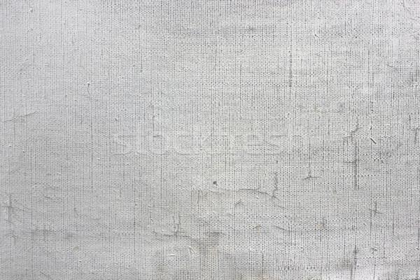 белый нефть холст старые пусто масляная краска Сток-фото © vavlt