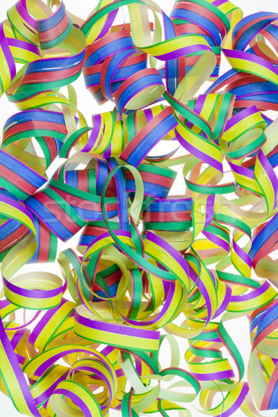 Paper New Year's streamers Stock photo © vavlt
