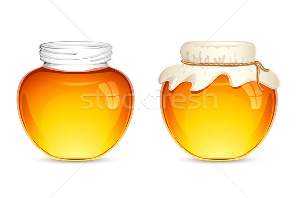 Honey Pot Stock photo © vectomart