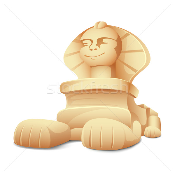 Sphinx Model Stock photo © vectomart