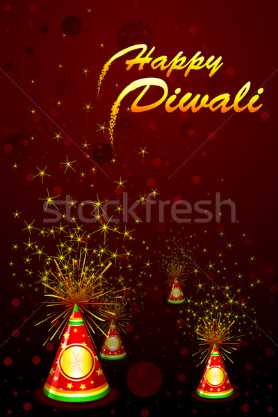 Diwali Fire Cracker Stock photo © vectomart