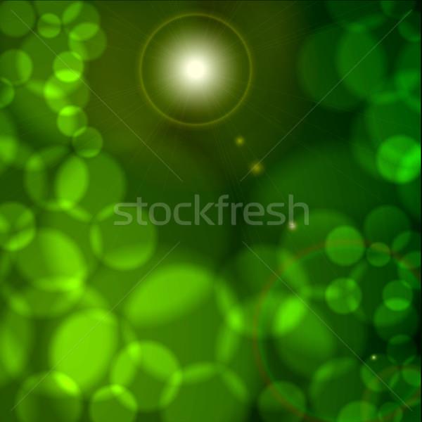Glowing Background Stock photo © vectomart