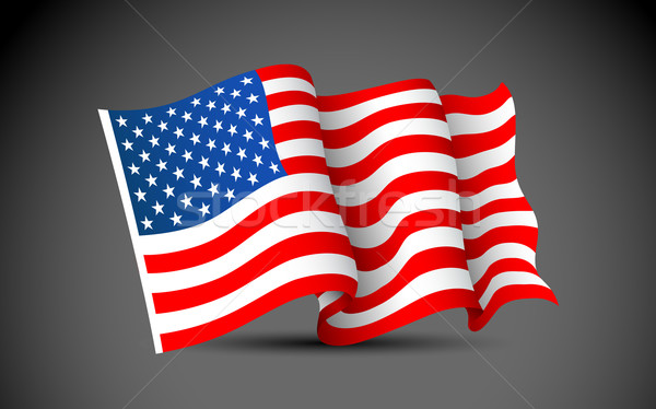 American Flag Stock photo © vectomart