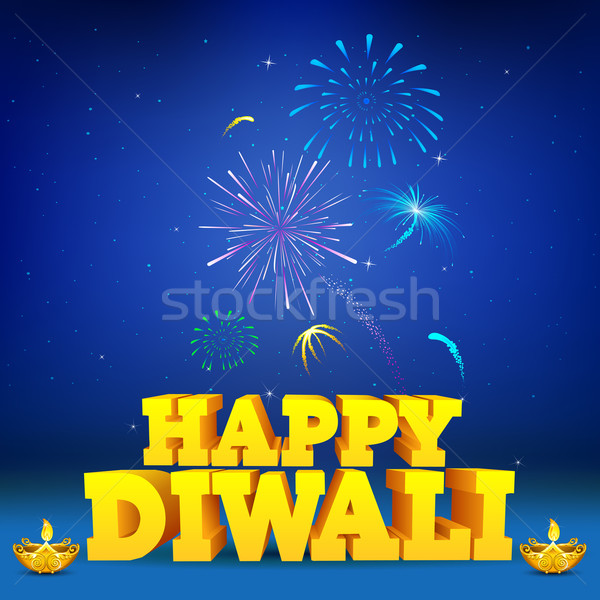 Diwali Night Stock photo © vectomart