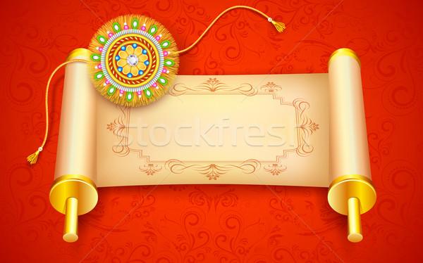 Raksha Bandhan Background Stock photo © vectomart