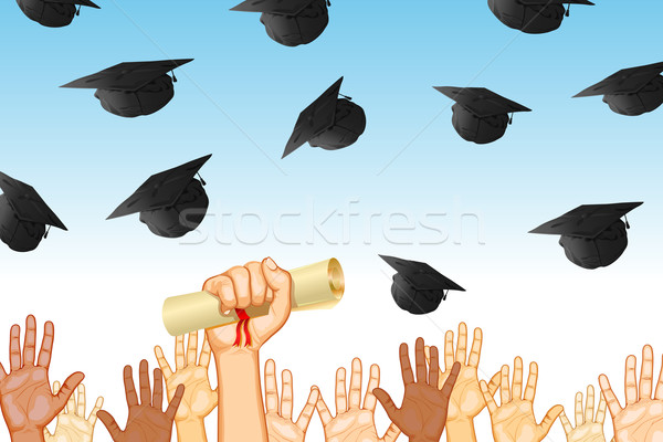 Graduation Day Stock photo © vectomart