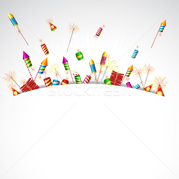 Poping Firecracker Stock photo © vectomart