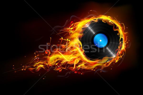 Hot Music Stock photo © vectomart