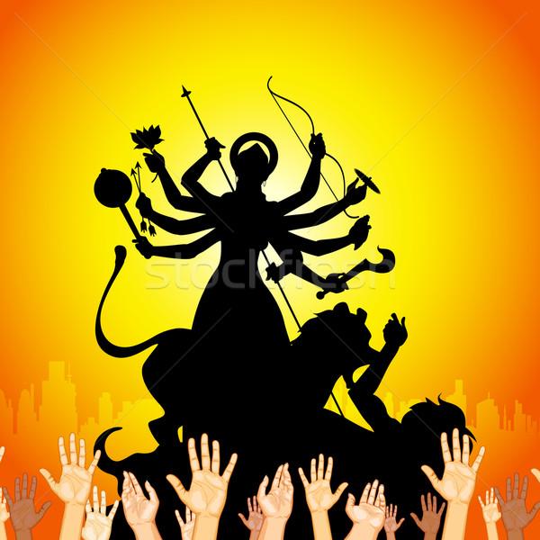 Durga Puja Stock photo © vectomart