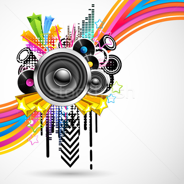Colorful Music Stock photo © vectomart
