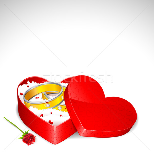 Love Gift Stock photo © vectomart