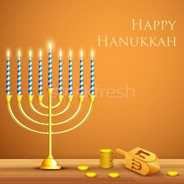 Hanukkah Background Stock photo © vectomart