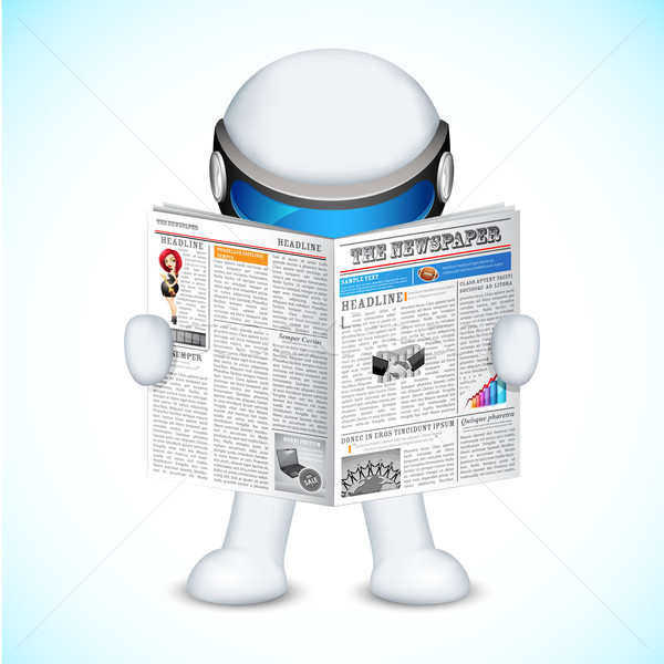 3d Man in vector Stock photo © vectomart