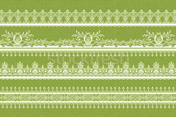 Lace Border Stock photo © vectomart
