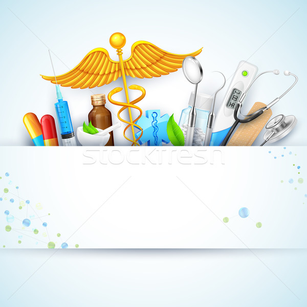 Healthcare and Medical Background Stock photo © vectomart