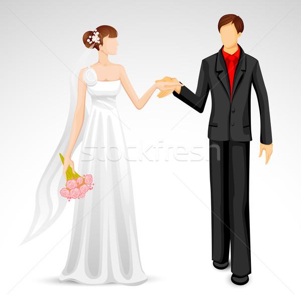 Married Couple Stock photo © vectomart
