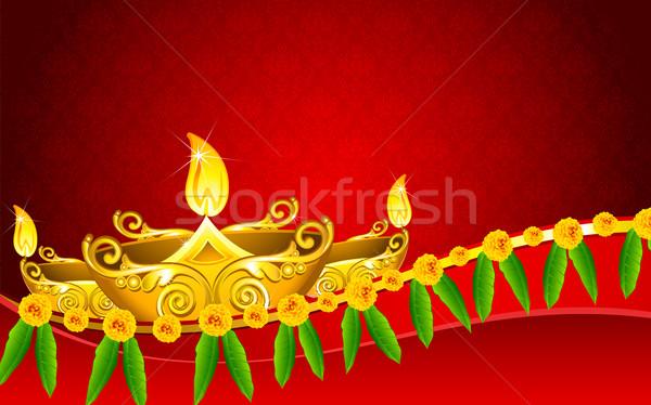 Diwali Diya Stock photo © vectomart