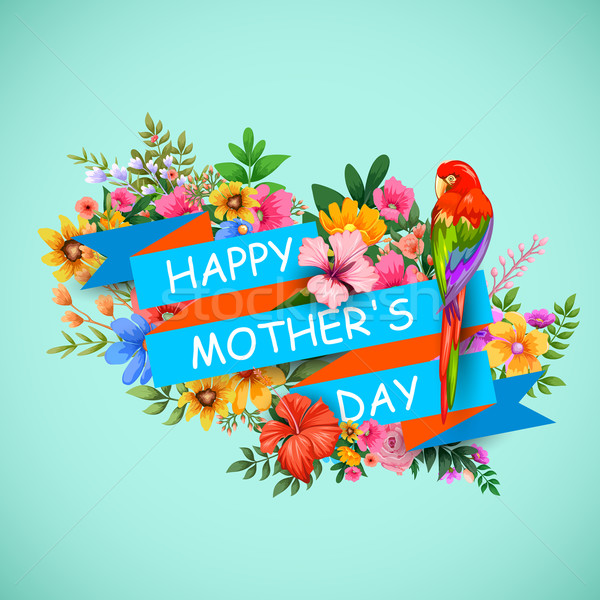 Happy Mother's Day Stock photo © vectomart