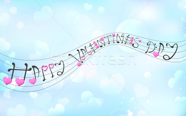 愛 音楽 実例 幸せ チューン ストックフォト © vectomart