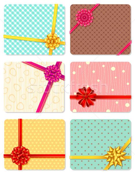 Gift Ribbon Stock photo © vectomart