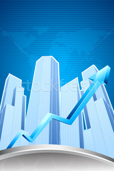 Increasing Real Estate Stock photo © vectomart