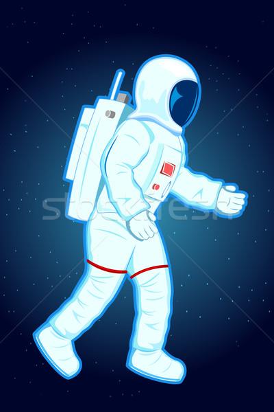 Astronaut Stock photo © vectomart