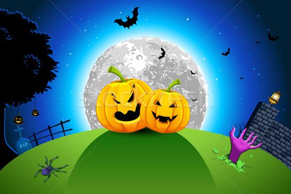 Stock photo: Halloween Card