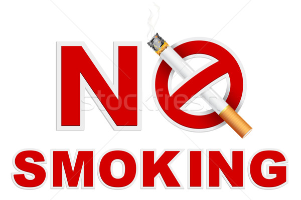 No Smoking Stock photo © vectomart