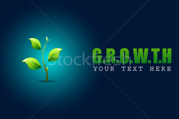 Sapling in Growth COncept Stock photo © vectomart