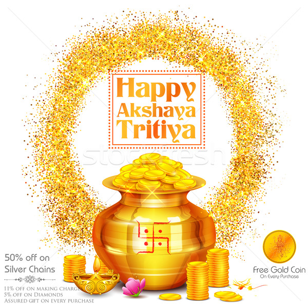 Akshay Tritiya celebration Stock photo © vectomart
