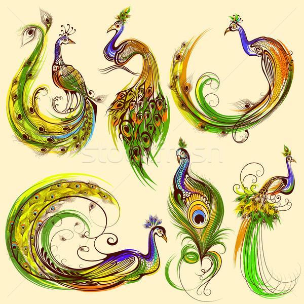 Tattoo art design of  collection Stock photo © vectomart
